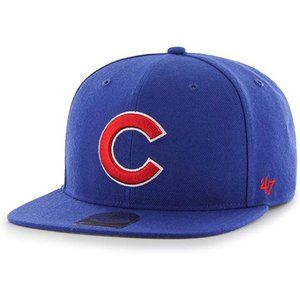 '47 Chicago Cubs Embroidered Snapback Hat New Blue
